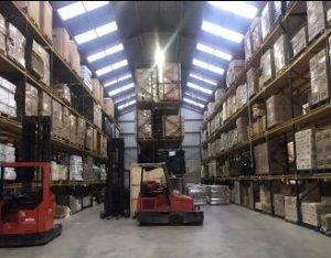 Pallet Storage and Forwarding